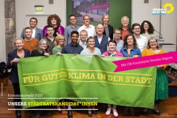Grüne StadtratskandidatInnen 2020